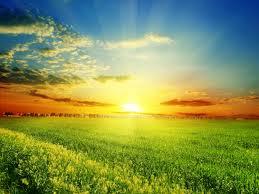 sol y cielo